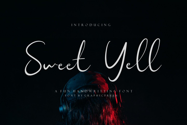 Sweet Yell 01